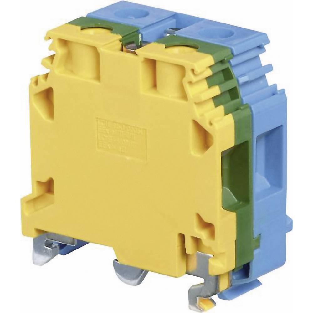 Basisklemmeblok 24 mm Skruer Belægning: Terre, N Grøn-gul, Blå ABB 1SNA 165 680 R0300 1 stk