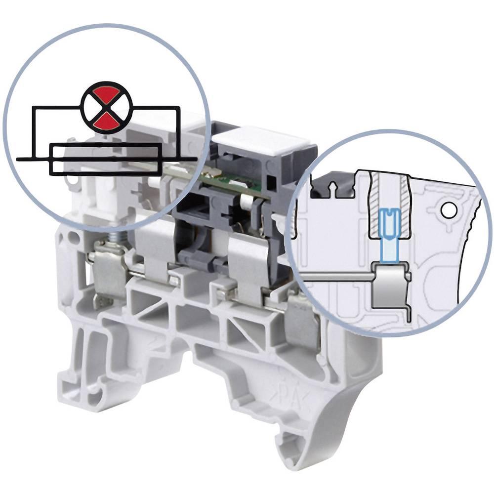 Sikringsklemme 8 mm Skruer Belægning: L Grå ABB 1SNK 508 415 R0000 1 stk