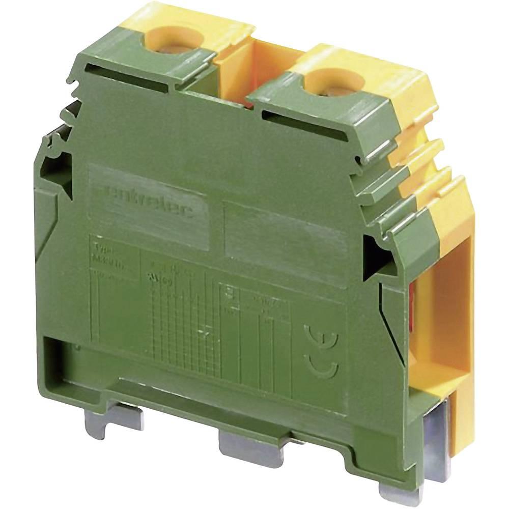 Jordklemme 16 mm Skruer Belægning: Terre Grøn-gul ABB 1SNA 165 111 R1400 1 stk