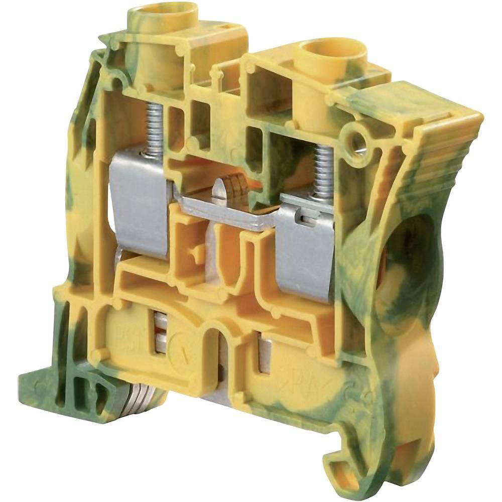 Sponka z zaščitnim vodnikom 10 mm, vijačna namestitev: PE zelene barve-rumene barve ABB 1SNK 510 150 R0000 1 kos