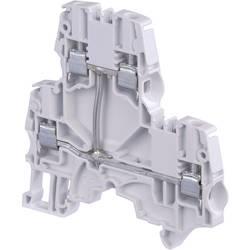 Dobbeltlags-gennemgangsklemme 6 mm Skruer Belægning: L Grå ABB 1SNK 506 211 R0000 1 stk