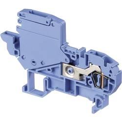 Skilleklemme 6 mm Trækfjeder Belægning: N Blå ABB 1SNA399586R2400 1 stk