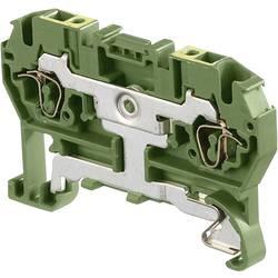 Jordklemme 6 mm Trækfjeder Belægning: Terre Grøn-gul ABB 1SNA 290 069 R1700 1 stk