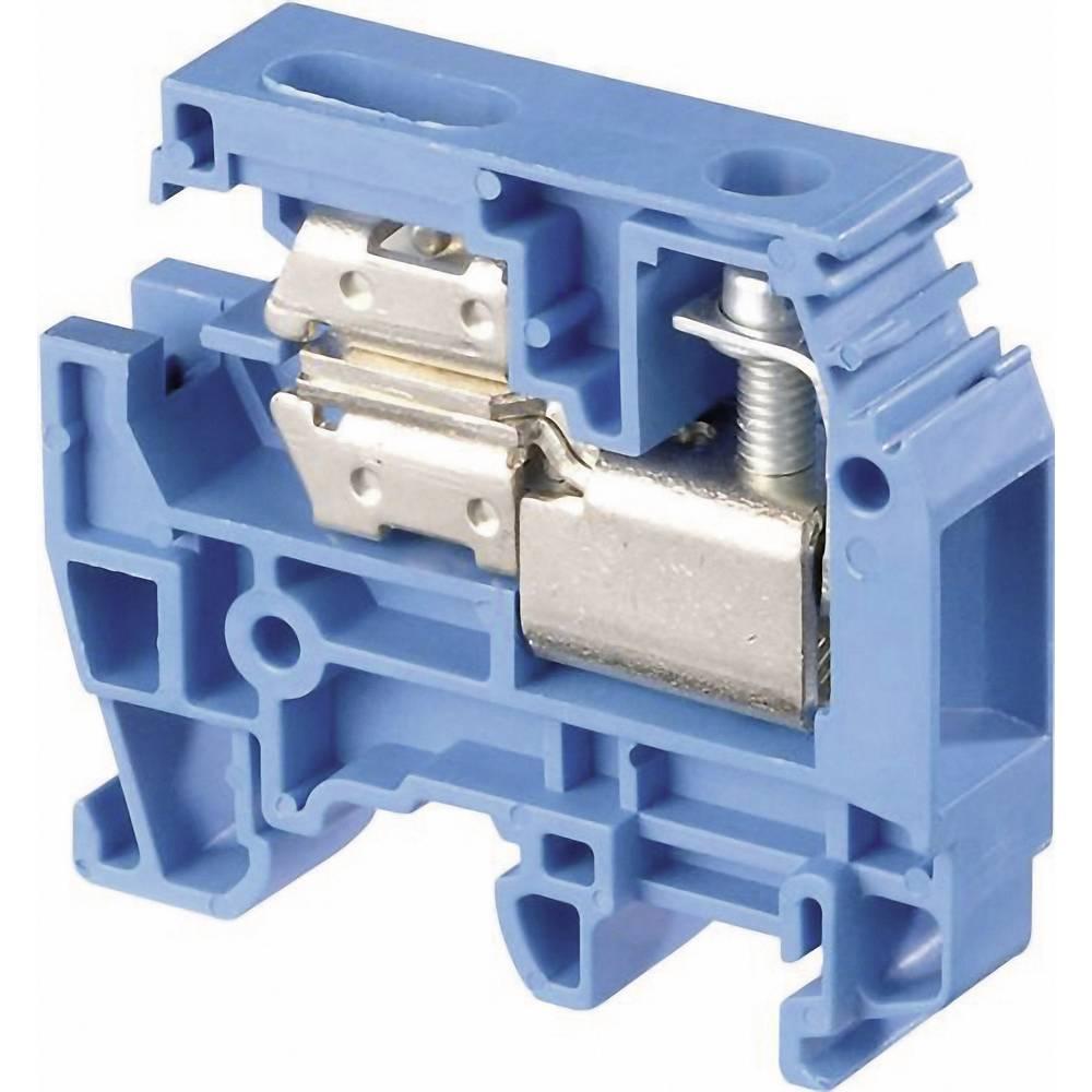 Skilleklemme 6 mm Skruer Belægning: N Blå ABB 1SNA 125 117 R0200 1 stk