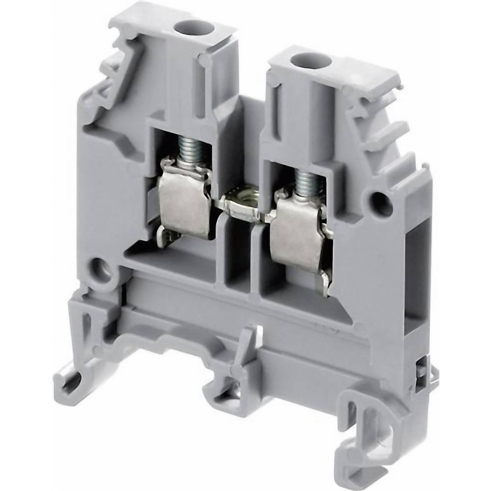 Gennemgangsklemme 10 mm Skruer Belægning: N Blå ABB 1SNA 125 120 R1100 1 stk