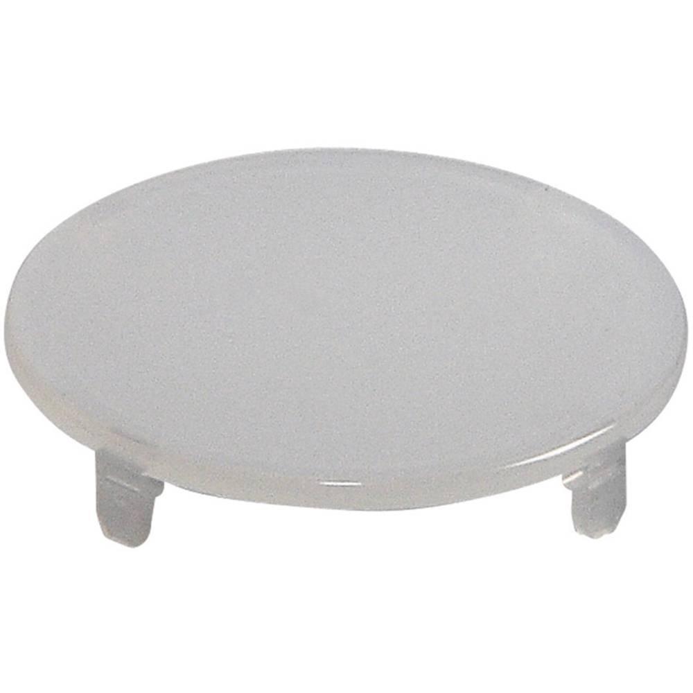Pokrov za gumb, okrogel,ploski bele barve Schlegel T22RRWS 10 kosov