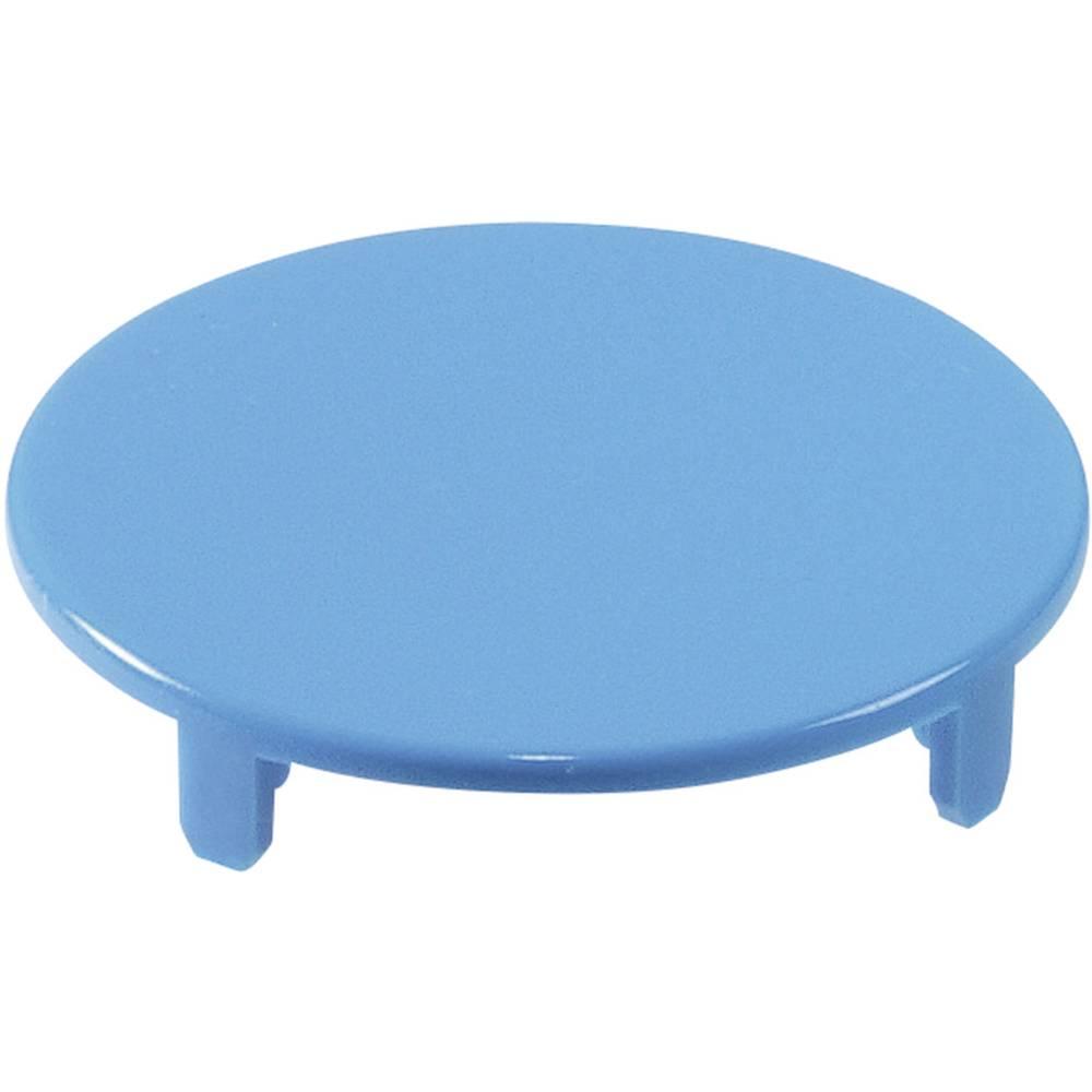 Pokrov za gumb, okrogel,ploski modre barve Schlegel T22RRGBL 10 kosov