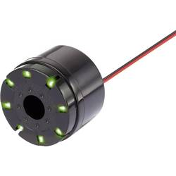 Piezo sirena, glasnost 105 dB, obratovalna napetost 12 V/DC, 1 kos