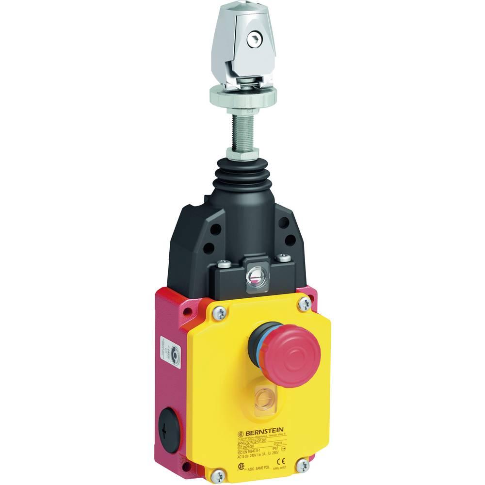 Kabelsko potezno stikalo 240 V/AC 10 A kabel z Quickfix, tipkalno Bernstein AG SRM-U1Z/U1Z-QF-175 IP67 1 kos