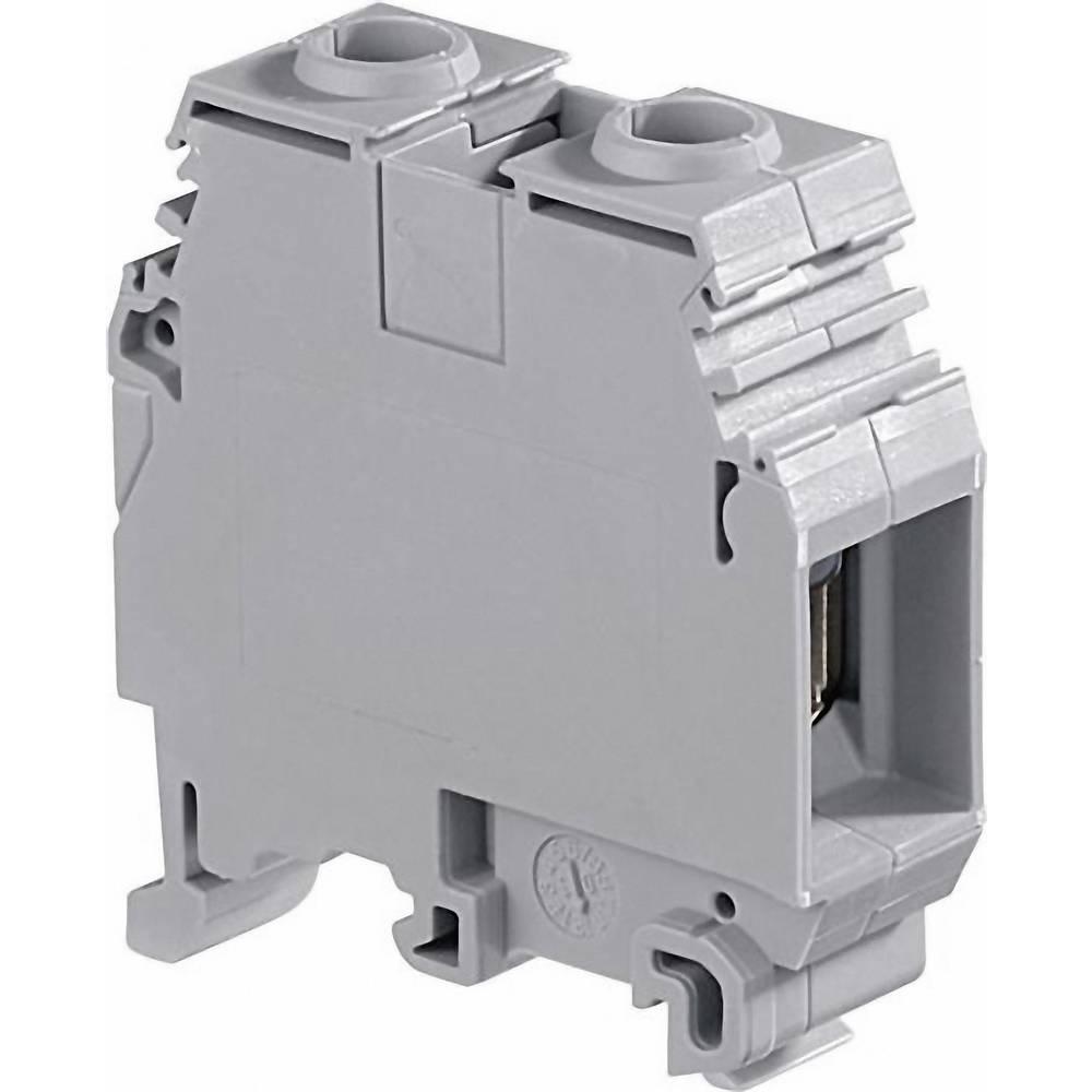 Gennemgangsklemme 16 mm Skruer Belægning: N Blå ABB 1SNA 125 124 R0100 1 stk