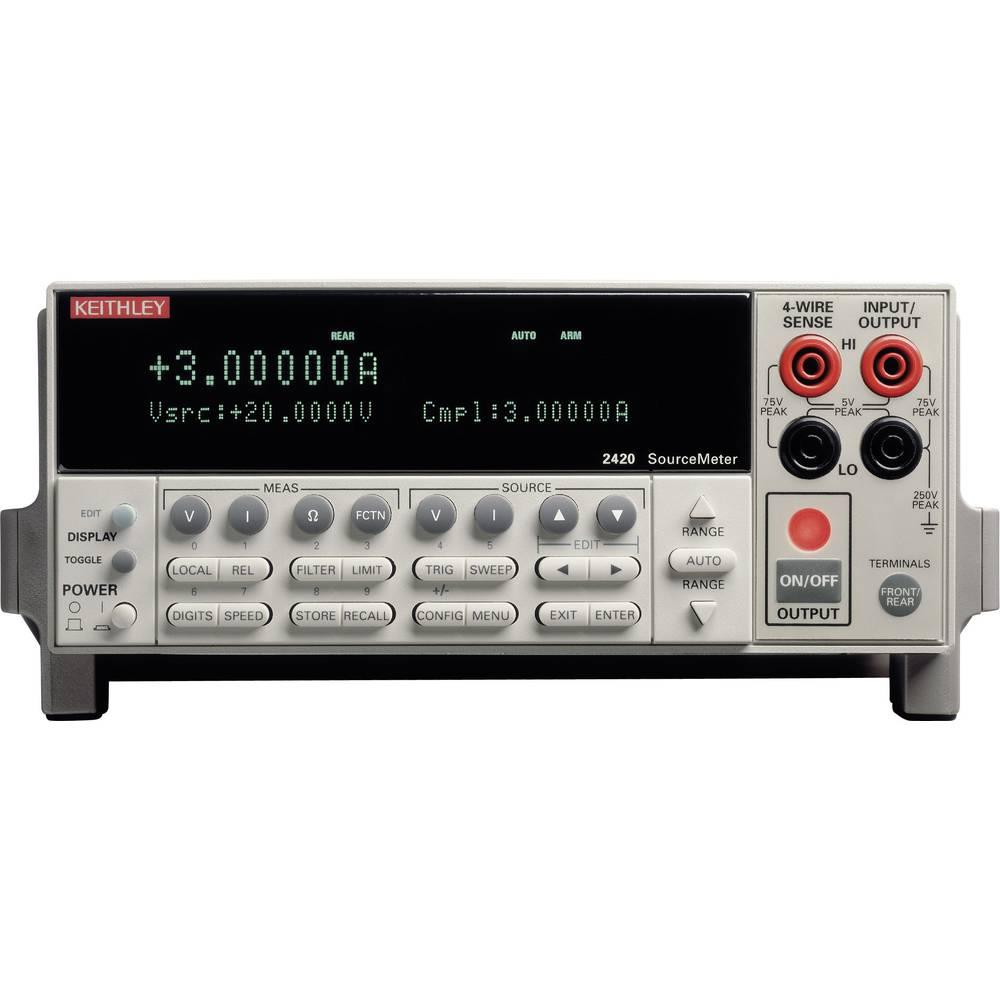 Laboratorijski napajalnik Keithley 2420, nastavljiv, 0 - 60 V 0 - 3 A 60 W, št. izhodov: 1 x