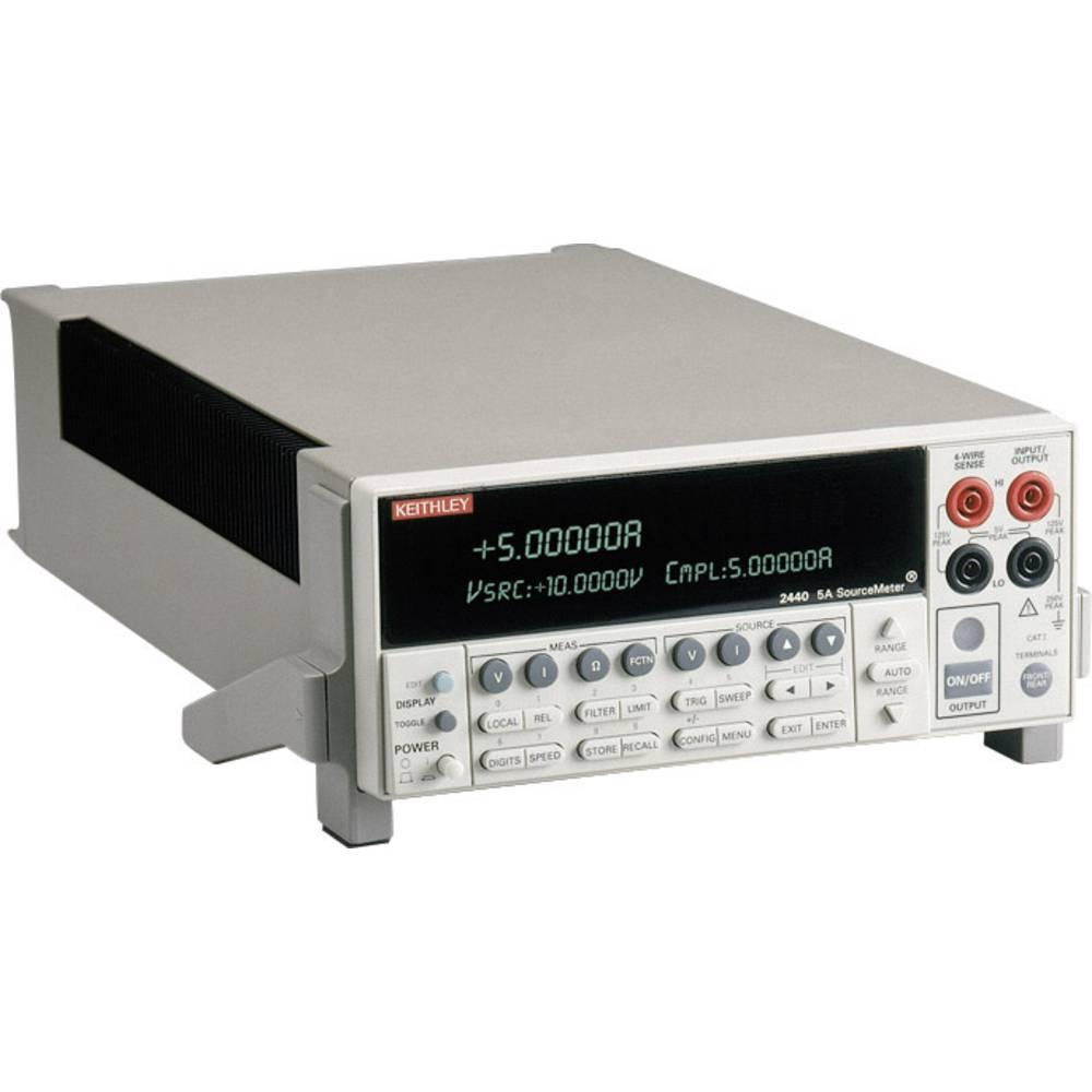 Laboratorijski napajalnik Keithley 2440, nastavljiv, 0 - 40 V 0 - 5 A 50 W, št. izhodov: 1 x