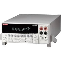 Namizni multimeter Keithley 2701E kalibracija narejena po: delovnih standardih,
