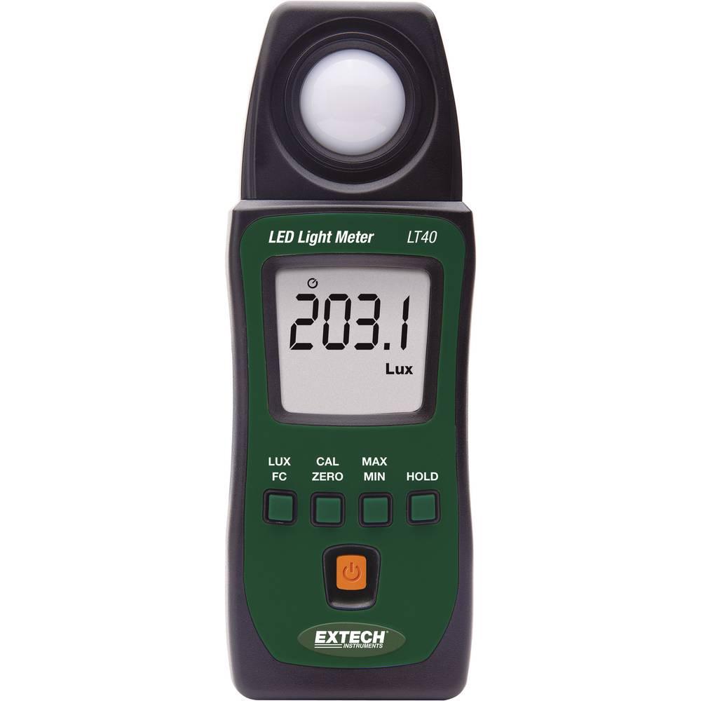 Kal.-ISO Extech LT40 Lux-Meter, merilnik svetlosti