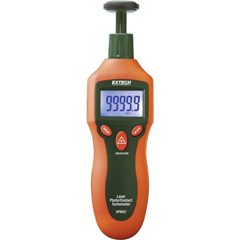Kalib. ISO-Extech RPM33 brzinomjer