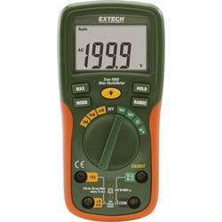 Ručni multimetar digitalni Extech EX205T kalibriran prema: DAkkS CAT III 600 V zaslon (brojevi): 2000