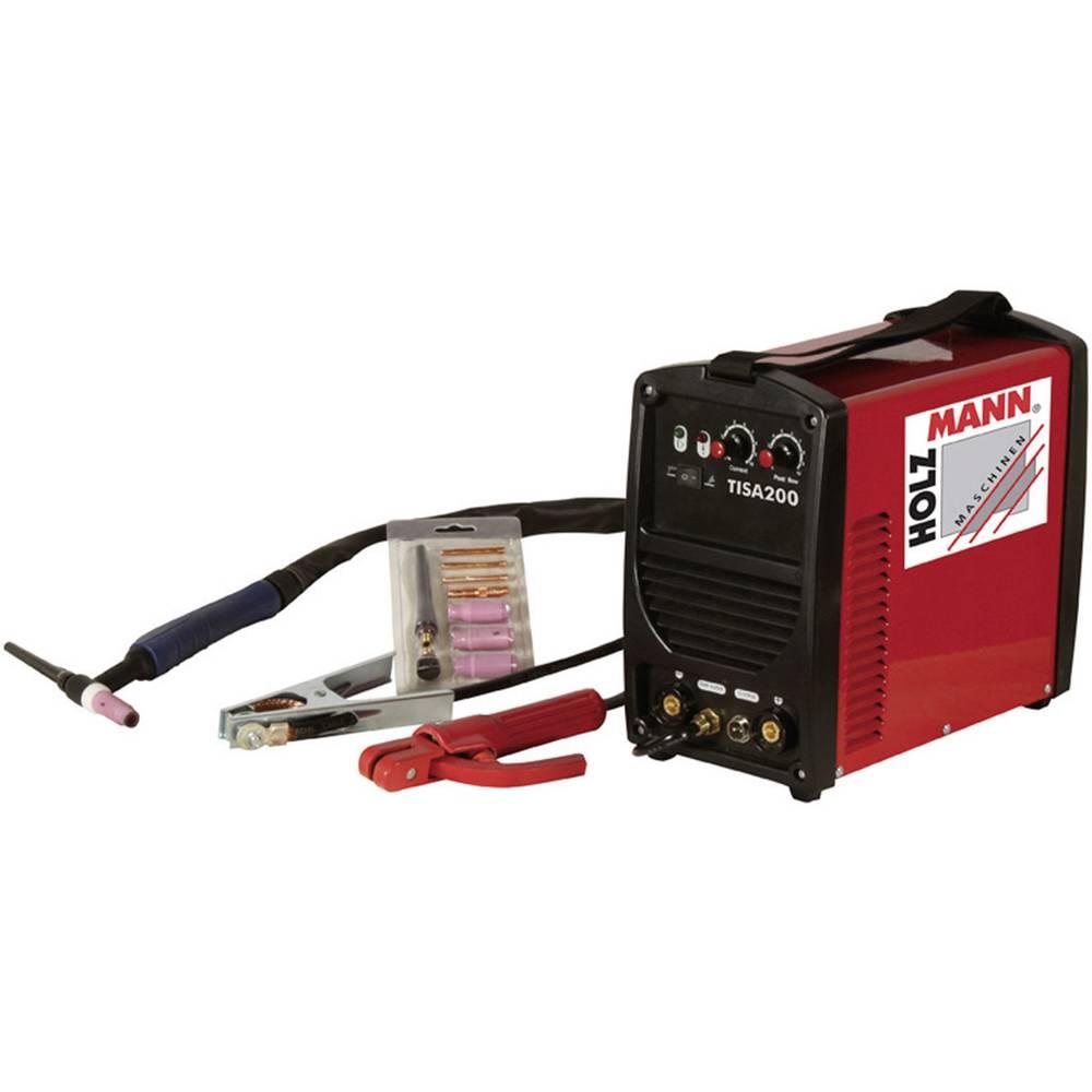 Holzmann Maschinen WIG/TIG inverter uređaj za varenje TISA 200 H110200003 napon 230 V/50 Hz struja varenja 5 - 200
