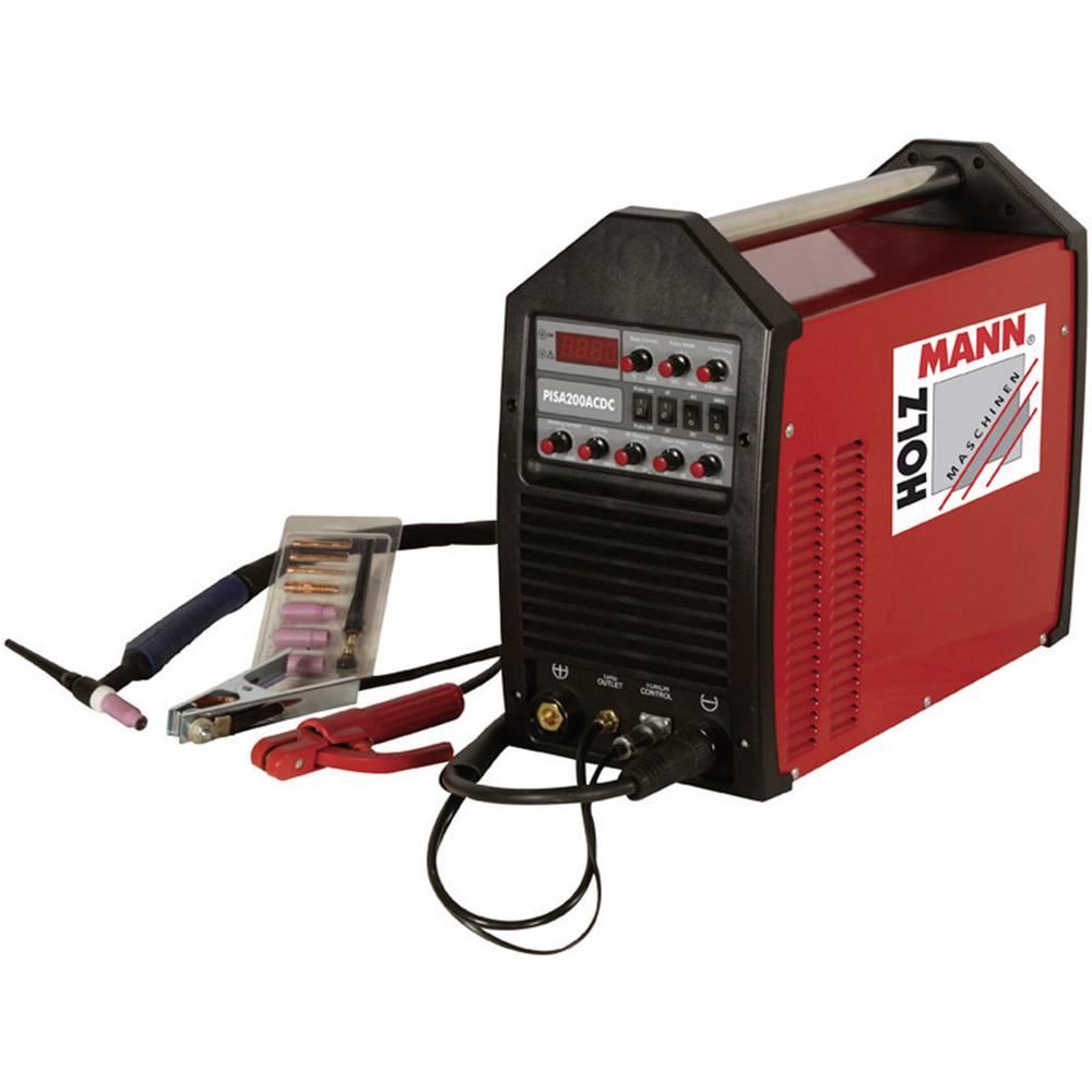 Holzmann Maschinen WIG/TIG Puls inverter uređaj za varenje PISA 200AC/DC H110200001 napon 230 V/50 Hz