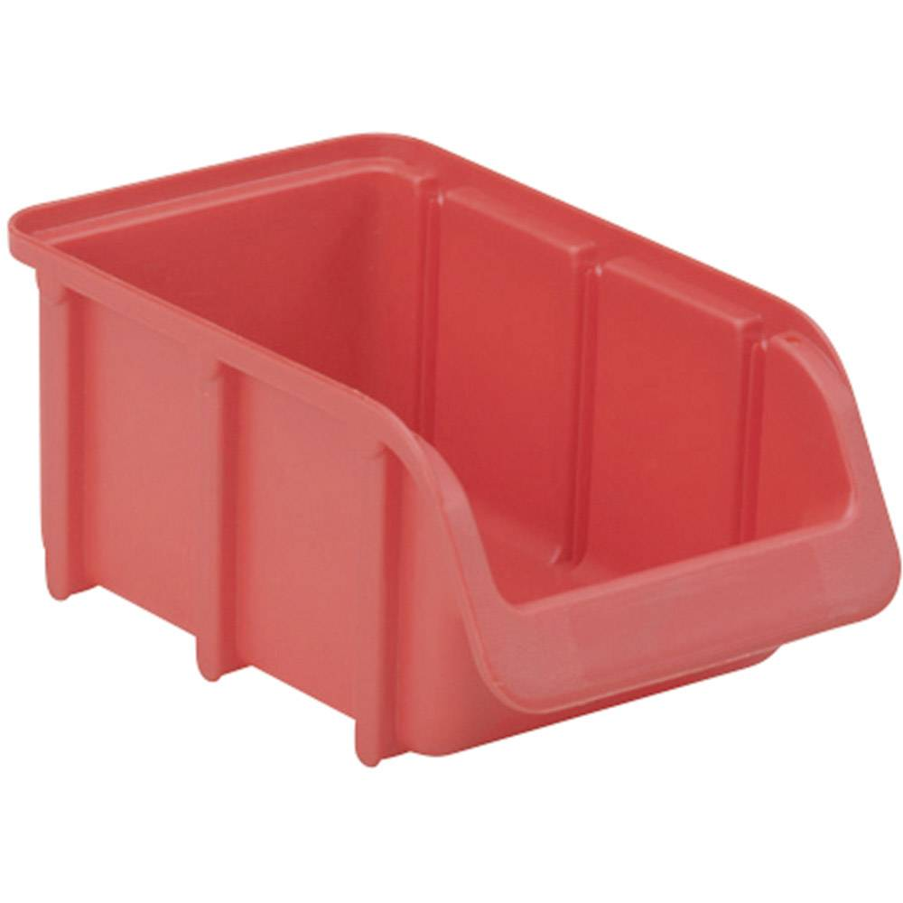 Otvorena kutija za skladištenje, veličina: 2 crvena 165 mm x 100 mm x 75 mm