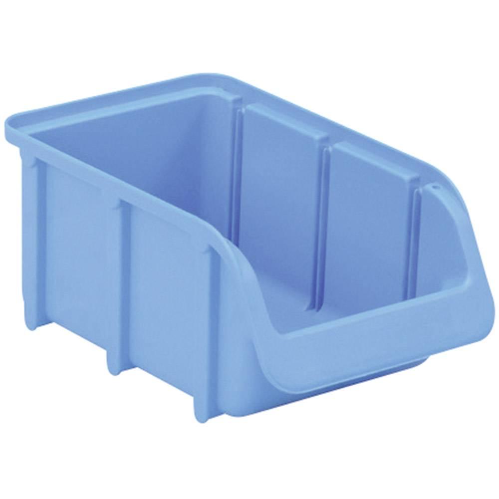 Otvorena kutija za skladištenje, veličina: 2 plava 165 mm x 100 mm x 75 mm
