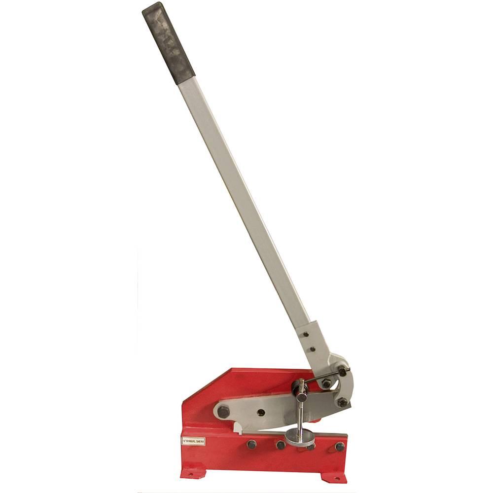 Holzmann Maschinen škare za lim s polugom HS 200 namijenjene za metalne ploče, limove, okrugle i plosnate čelične ploče H0301000