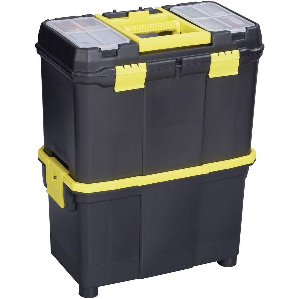 Kutija za alat Alutec 56350 umjetna masa, crna, žuta