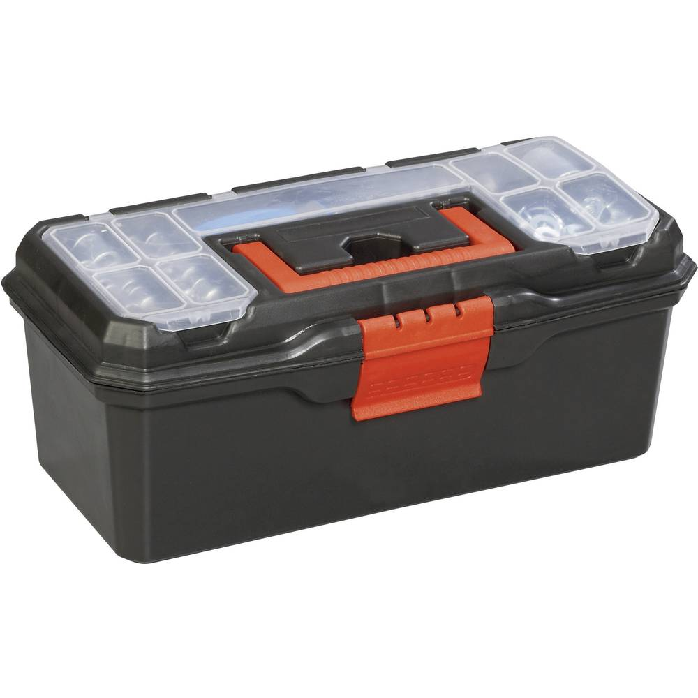Kutija za alat, prazna Alutec 56250 umjetna masa, crna