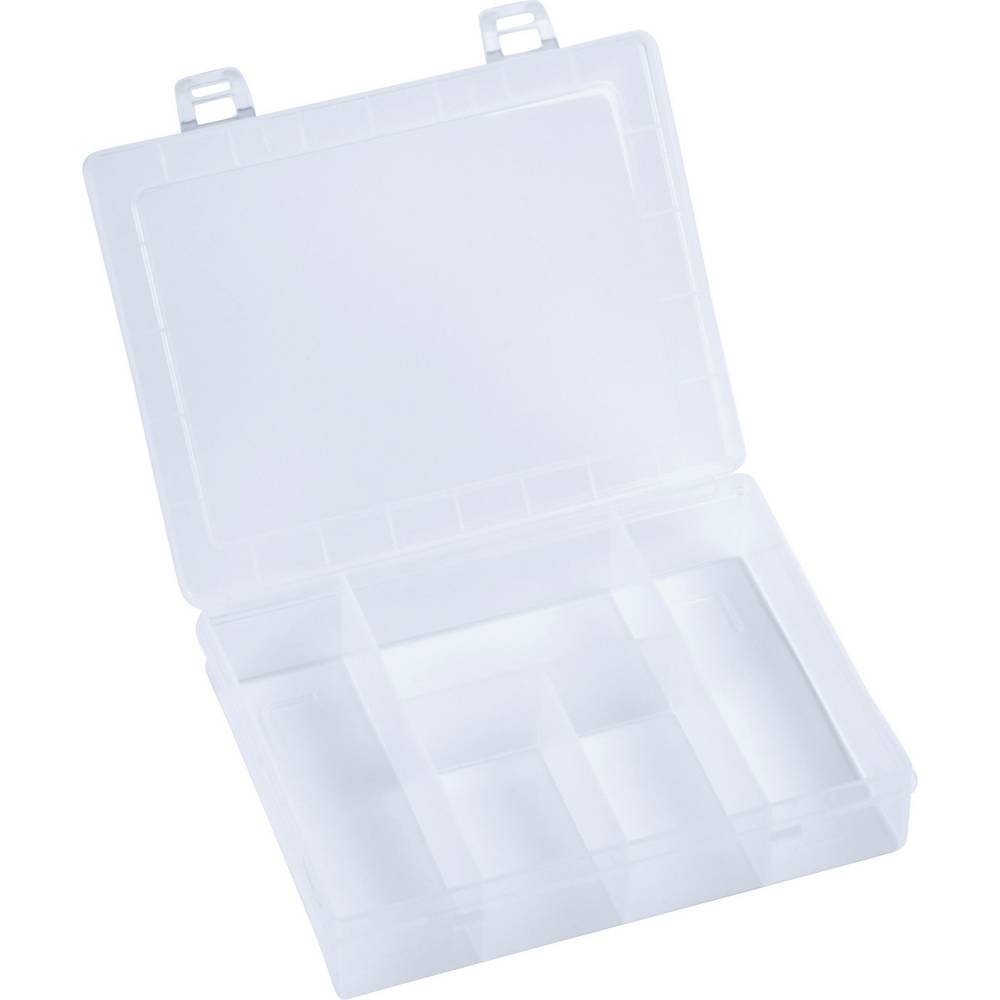 Sortirna škatla (D x Š x V) 180 x 140 x 40 mm Alutec št. predalov: 5 fiksna pregraditev