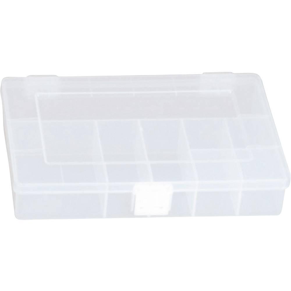 Sortirna škatla (D x Š x V) 250 x 180 x 45 mm Alutec št. predalov: 8 fiksna pregraditev