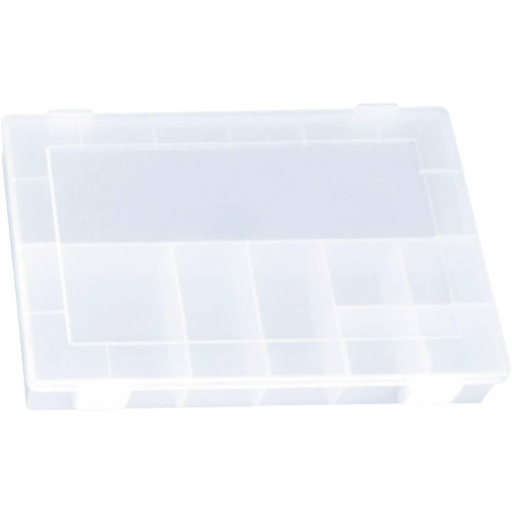 Sortirna škatla (D x Š x V) 335 x 225 x 55 mm Alutec št. predalov: 8 fiksna pregraditev