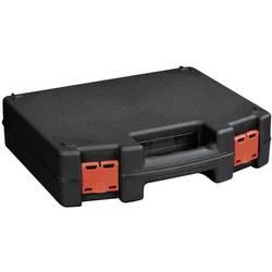 Kovček za orodje, brez vsebine Alutec 56635 iz umetne mase črne barve, rdeče barve