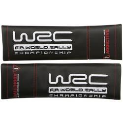Unitec WRC Jastučići za sigurnosni pojas, 2-dijelni komplet, crna, imitacija kože, črna
