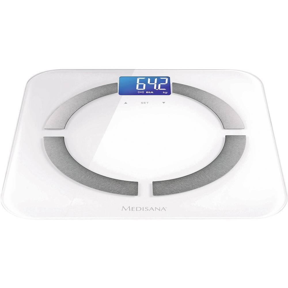 Osobna vaga za tjelesnu analizu Medisana BS430 connect raspon vage (maks.)=180 kg bijela