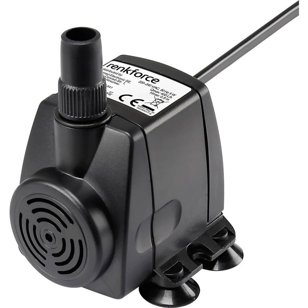 Pumpa za sobnu fontanu Renkforce 400 l/h 0.8 m
