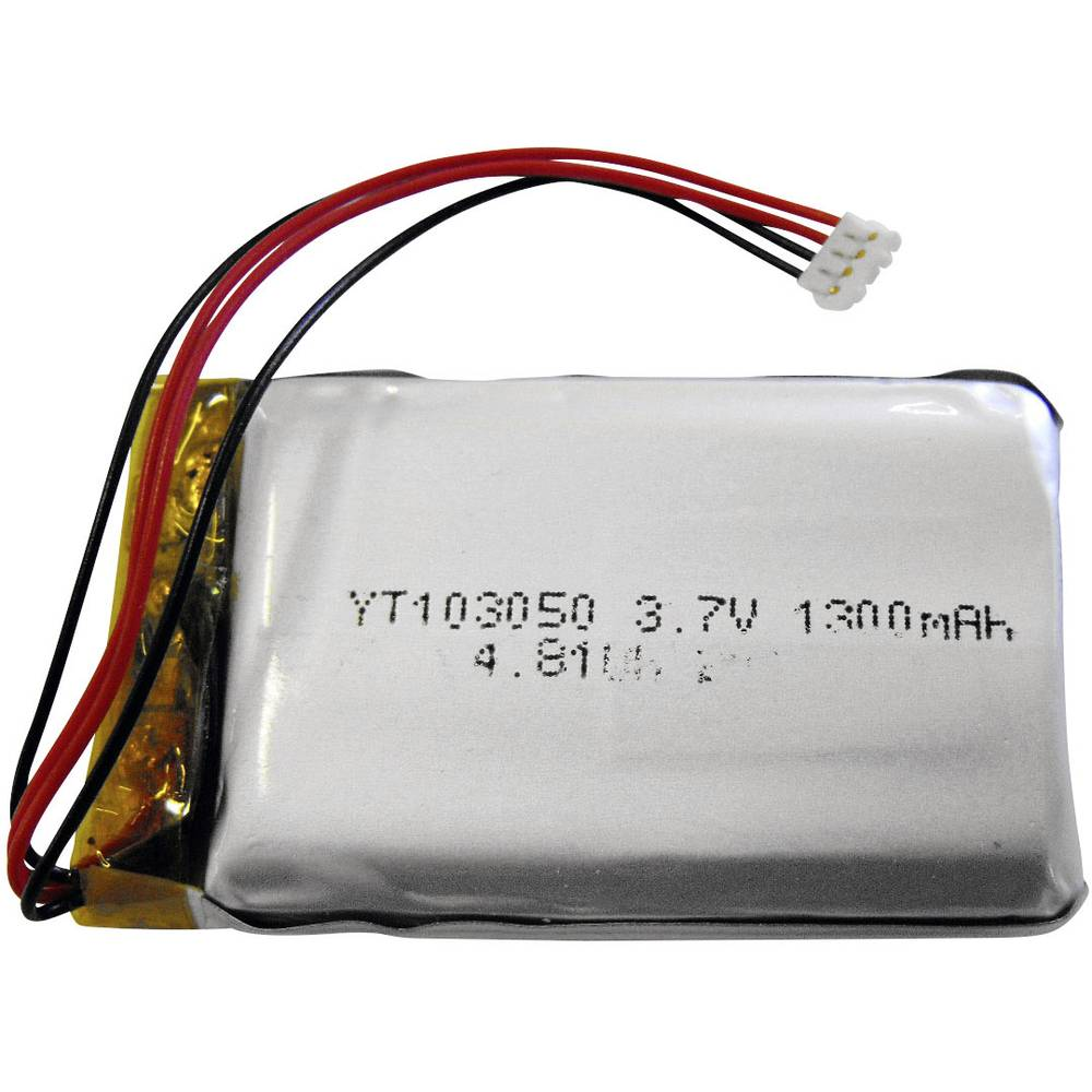 baterija za mini alarm RENKFORCE 3.7 V 1300 mAh