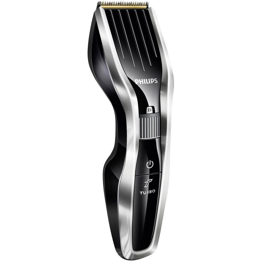 Aparat za striženje las Philips HC7450/80 pralni, srebrni/črne barve