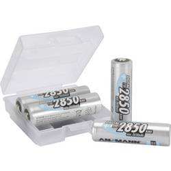 Laddbart batteri R6 (AA) NiMH Ansmann AA 4er + Box 2850 mAh 1.2 V 1 set