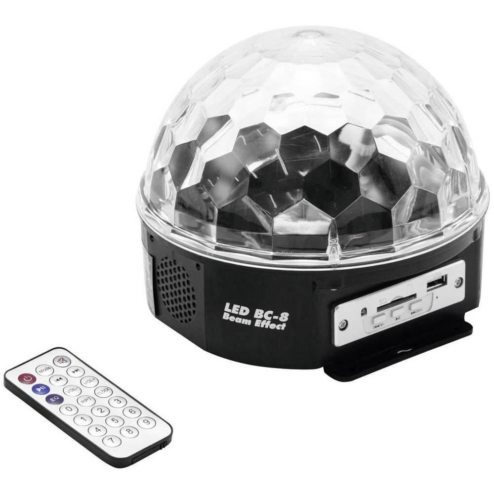 LED reflektor za svetlobne učinke št.evilo LED: 6 Eurolite LED BC-8 MP3 51918808