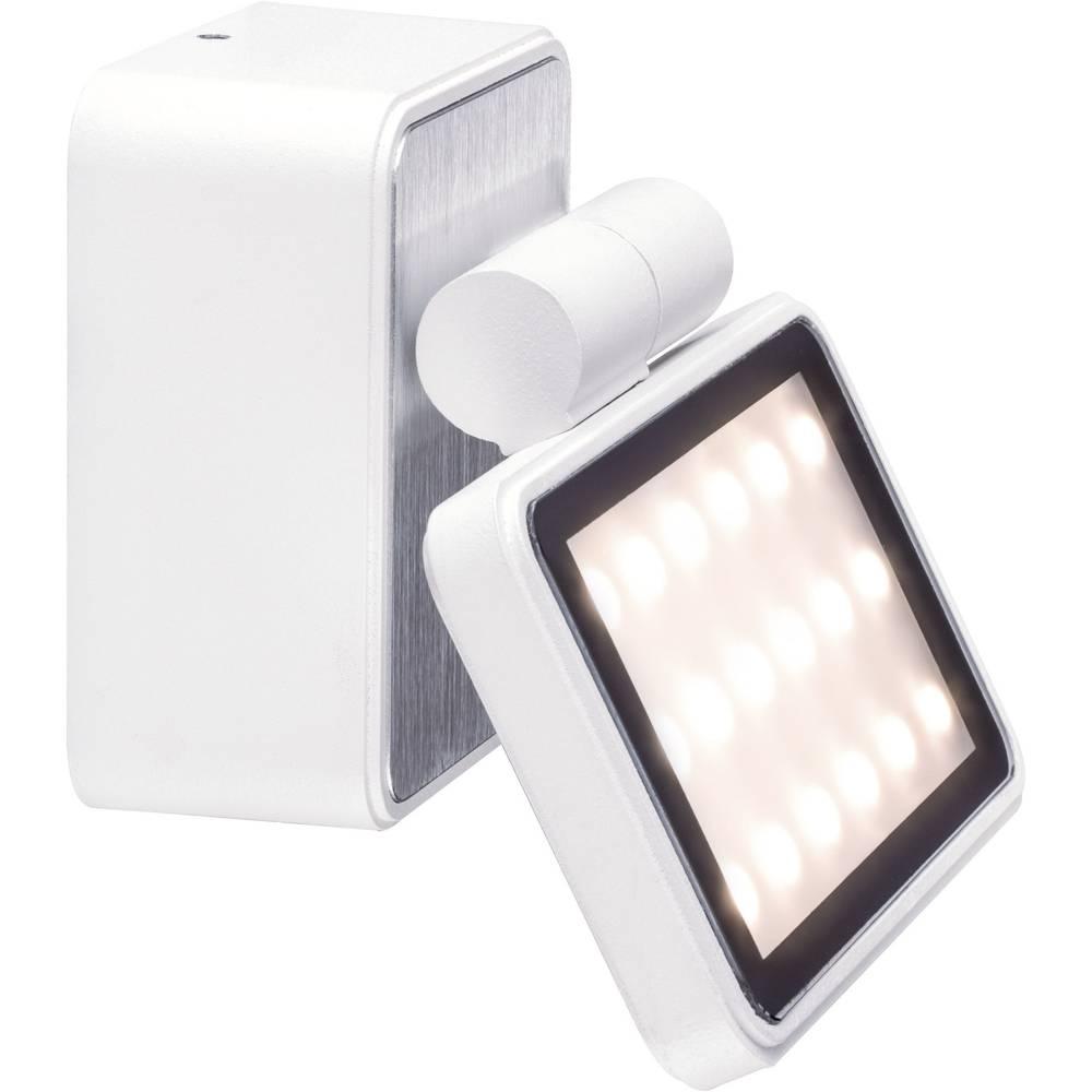LED-zunanja stenska svetilka 6.8 W toplo-bele barve Paulmann 93781 bele barve (mat)