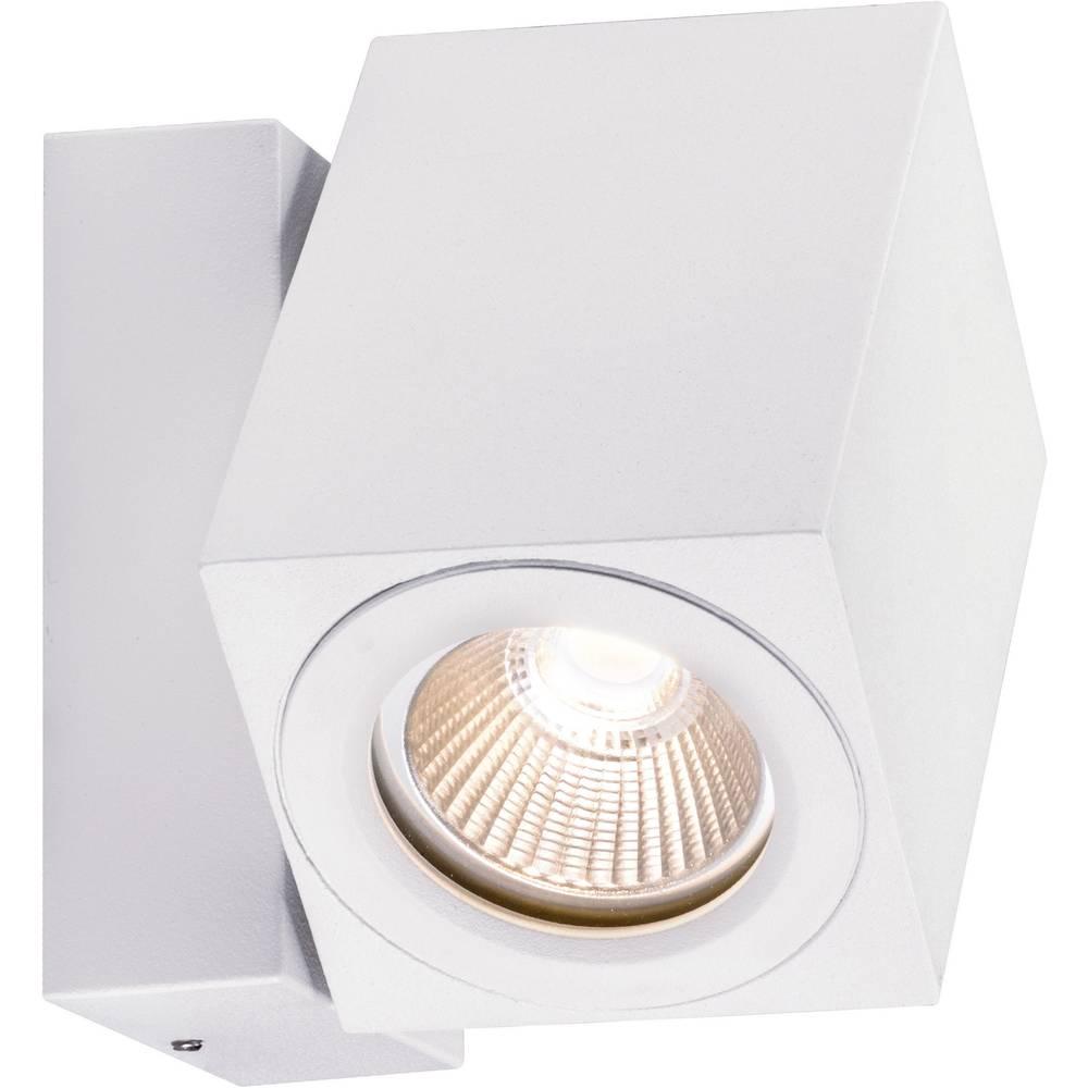 LED-zunanja stenska svetilka 7 W toplo-bele barve Paulmann 93782 bele barve (mat)