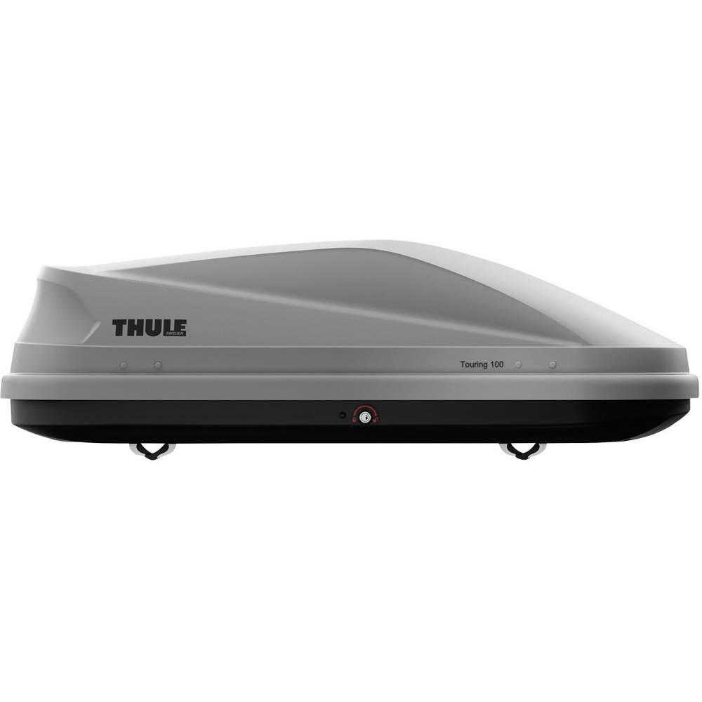 Strešni kovček Thule Touring 100, barva titana, aeroskin 634100