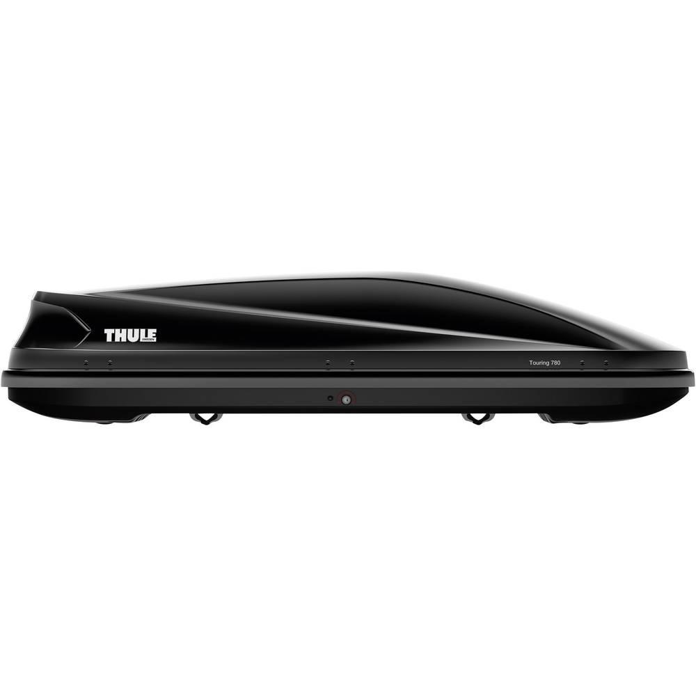 Strešni kovček Thule Touring 780, črne barve, sijoč 634801