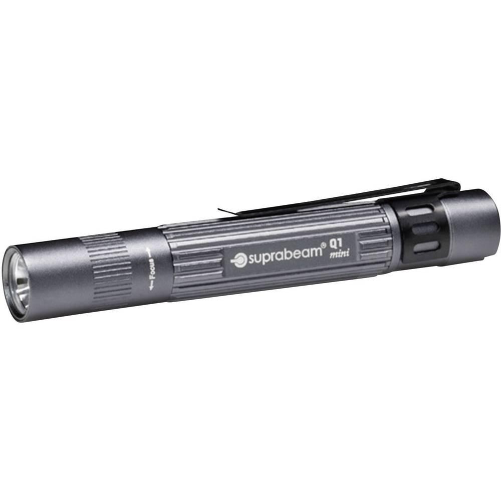 LED svjetiljka u obliku olovke Suprabeam Q1 Mini na baterije 38 g siva 900.011