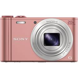 Digitalni fotoaparat Sony Cyber-Shot DSC-WX350P 18.2 Mio. Pixel Opt. Zoom: 20 x roza Full HD Video, WiFi DSCWX350P.CE3