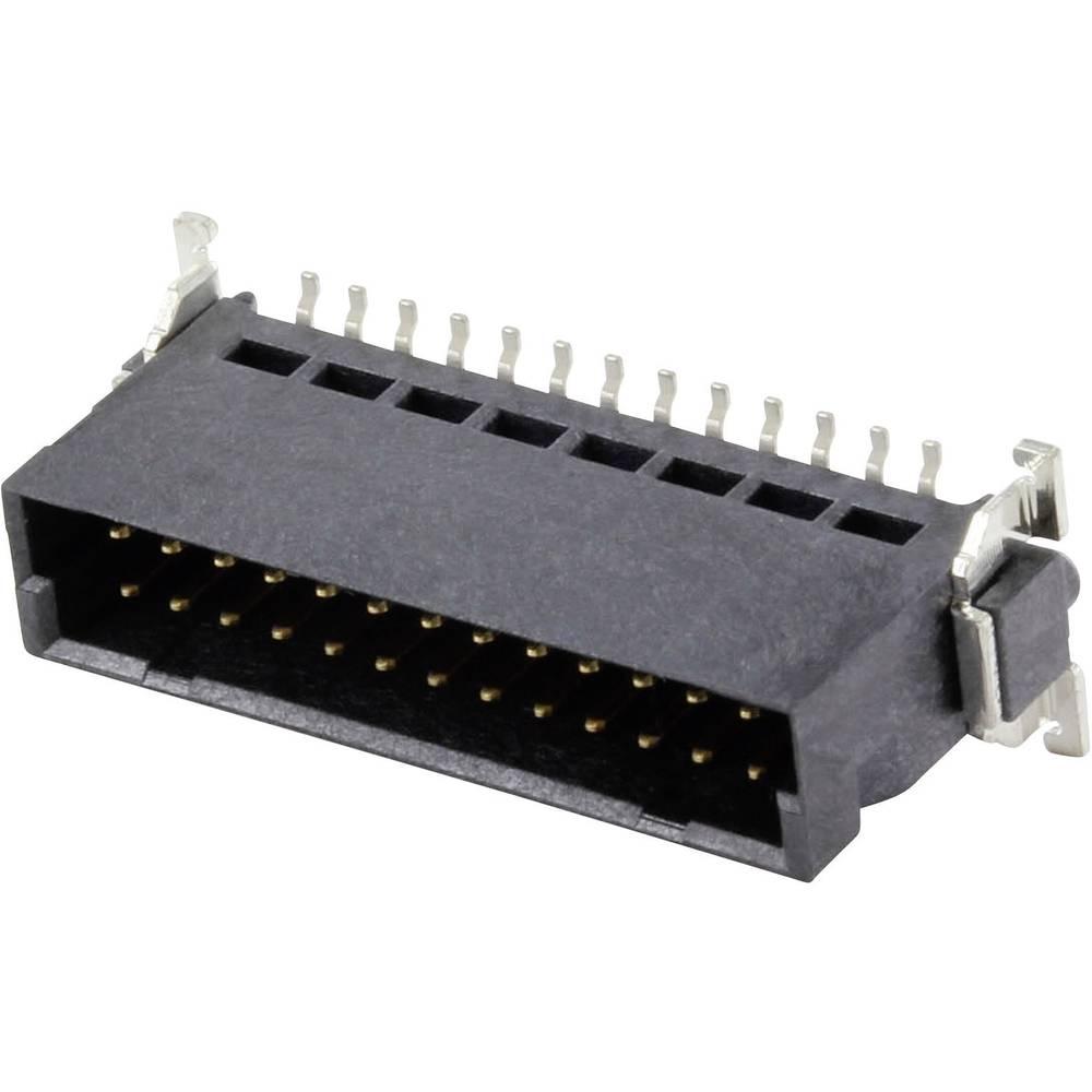 SMC-hankonnektor 63209 Samlet poltal 26 Antal rækker 2 ERNI 1 stk