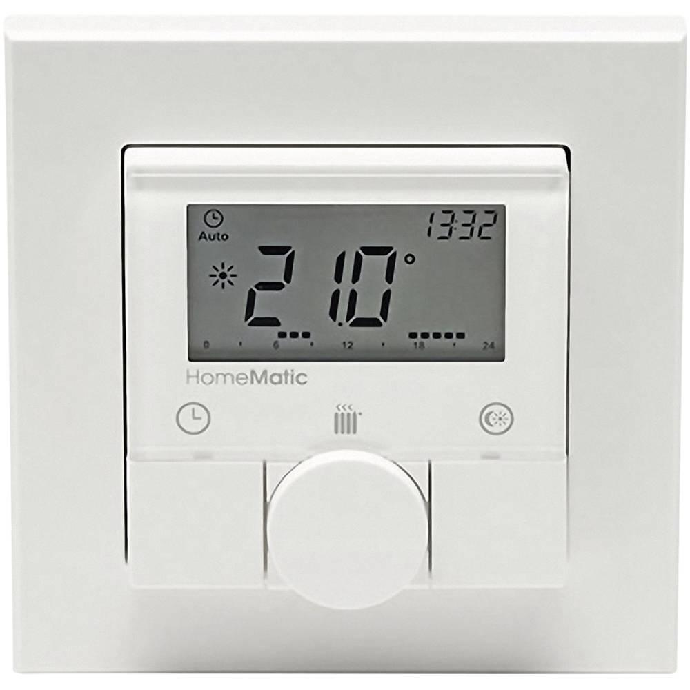 HomeMatic brezžični stenski termostat, montaža na steno 132030, maks. domet (na prostem) 100 m
