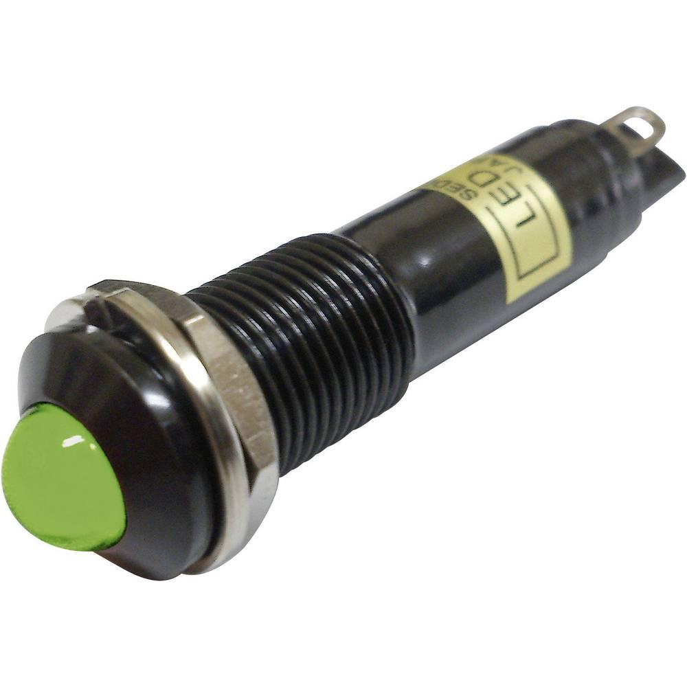 LED signalna lučka, zelena 12 V/DC Sedeco BD-0903B