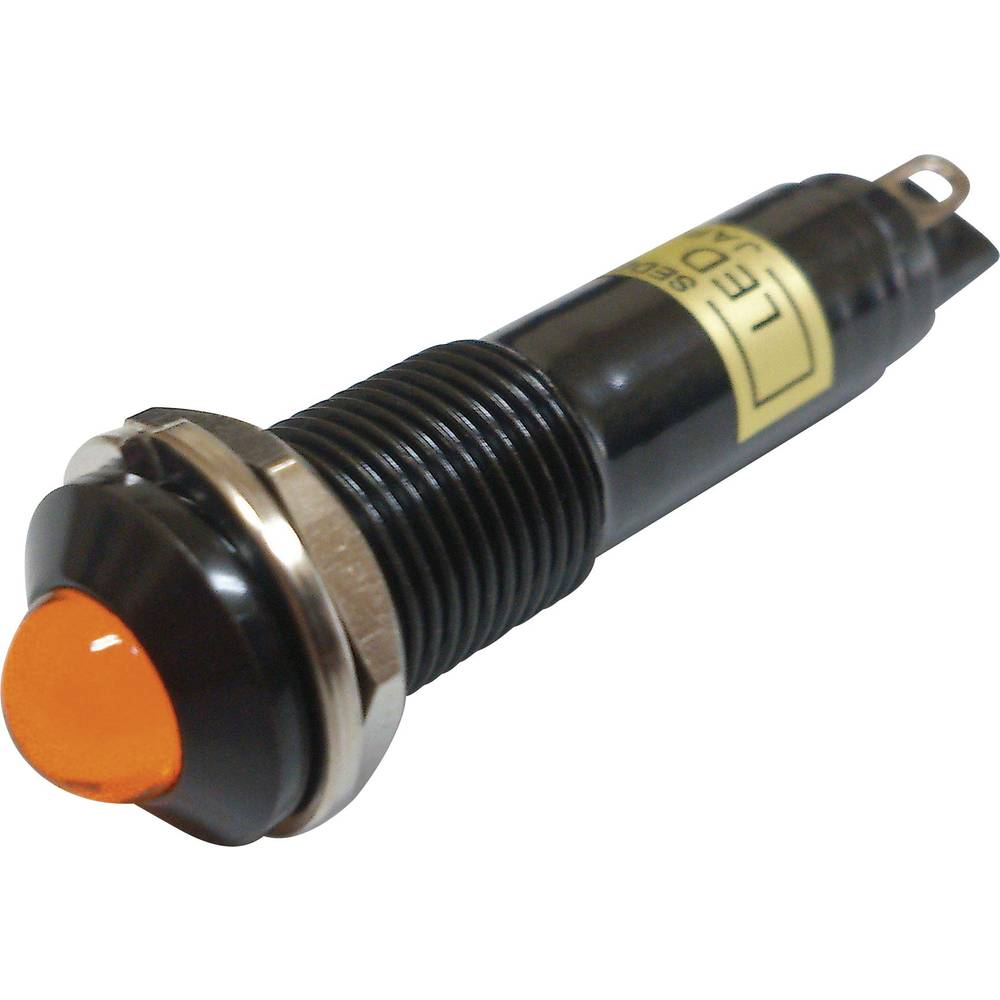 LED signalna lučka, oranžna 24 V/DC Sedeco BD-0903B