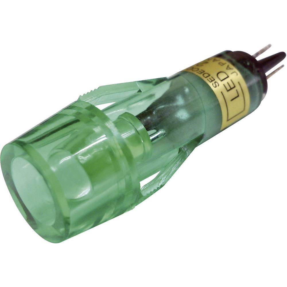 LED-Signalleuchte (value.1317401) Sedeco BD-1019 12 V/DC Grøn