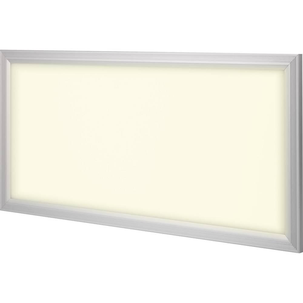 LED-panel Renkforce Paterna, 36 W, topla bela svetloba, srebrno-sive barve